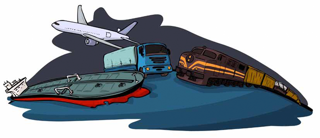 todo tipo de transportes:
